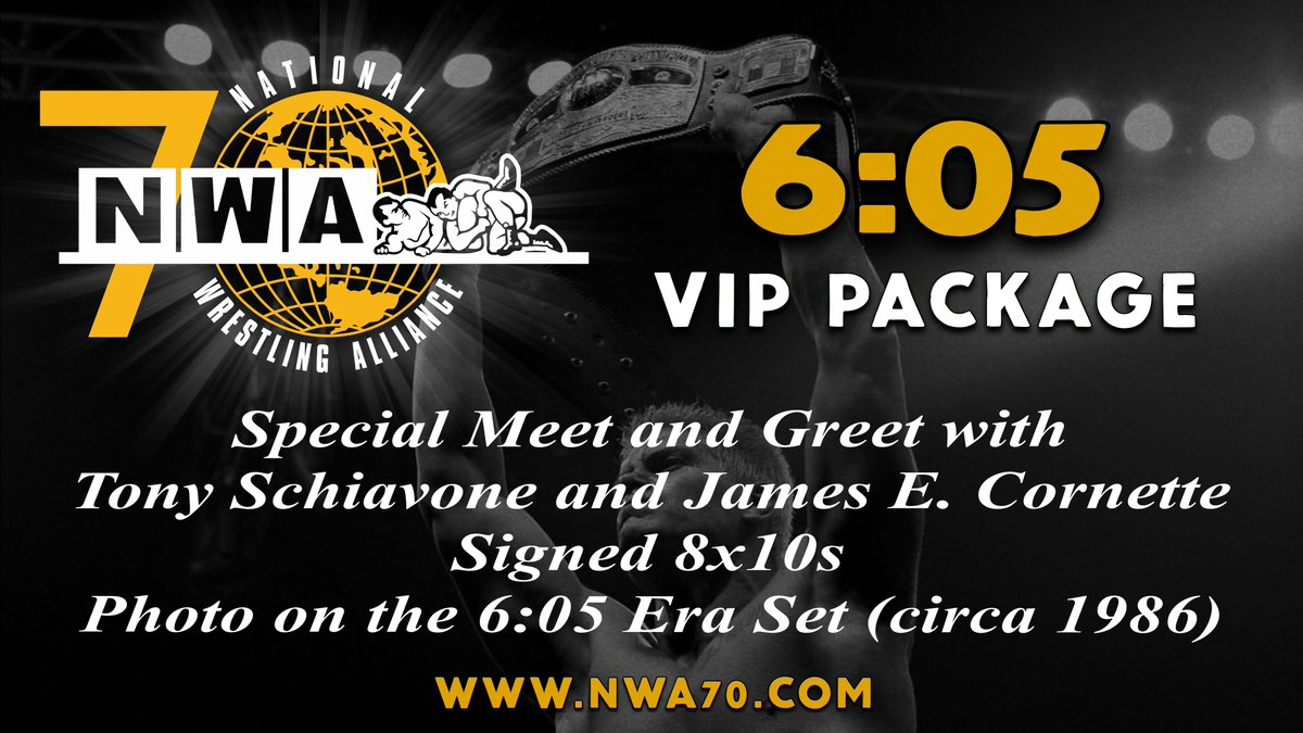Nwa on twitter tomorrow at 10am et the meet and greets for nwa70 nwa on twitter tomorrow at 10am et the meet and greets for nwa70 go on sale at httpsty4bstdyalw the first package we will unveil is the 605 vip m4hsunfo