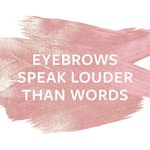 We let our brows do the talking. #SevaBeauty