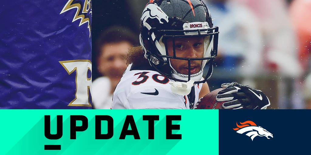 Broncos RB Phillip Lindsay ejected from #DENvsBAL: https://t.co/2wqTba81Uj https://t.co/L2ZYyYbJU5