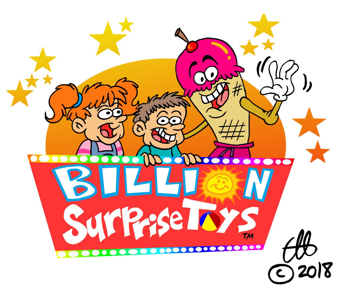 Clint Hopfe On Twitter The Billion Surprise Toys Logo Made Less
