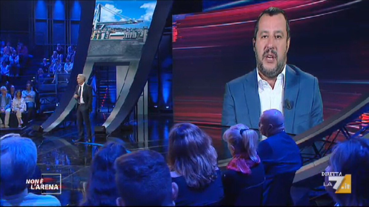 #Salvini: in tre mesi abbiamo tolto i vitalizi a ex parlamentari, chi fa ricorso dovrebbe vergognarsi. In tre mesi abbiamo fermato gli sbarchi a 20 mila (ma allora si poteva fare!!!). In entrambi i casi: VOLERE È POTERE. #nonèlarena  - Ukustom