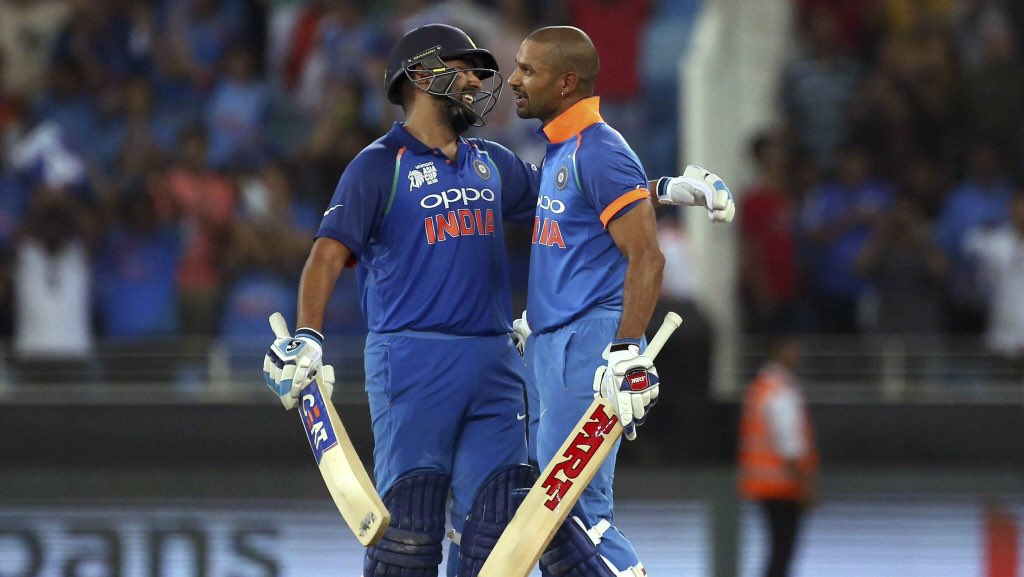Congratulations to Team India for their second straight victory over Pakistan. Undefeated, we march-on towards winning the Asia Cup #INDvsPAK #AsiaCup18 Special shout-out to @ImRo45 and @SDhawan25