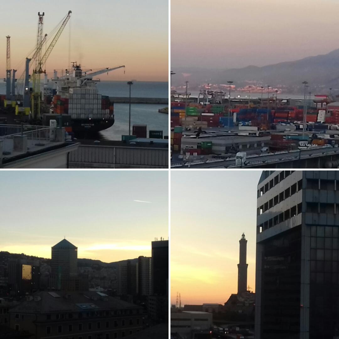 """#12settembre   #portofgenoa #trovalalanterna #shootyourport #terminal #craneatwork #shipping #genovamorethanthis"" @StefanFerraro grazie mille! #genova  - Ukustom"