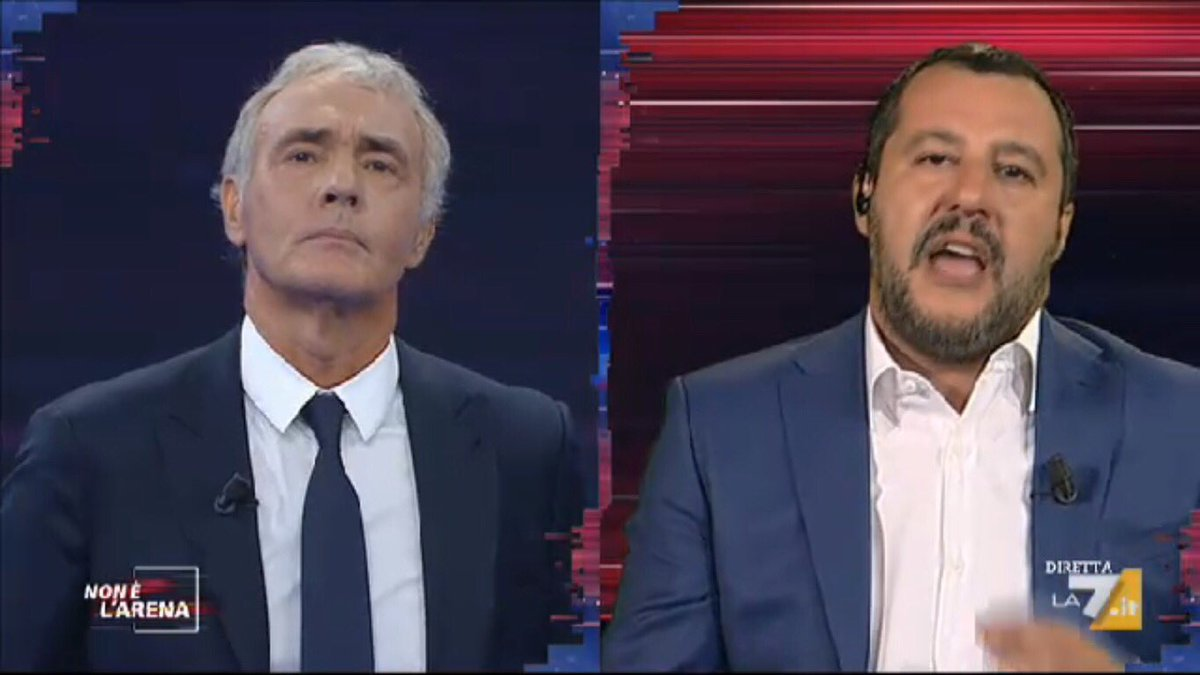 #Salvini: gli italiani ci stanno premiando per la normalità, facciamo cose NORMALI che farebbero padri e madri di famiglia. E se ci lasciano lavorare, senza essere dei geni, riporteremo l'Italia al posto che merita. #nonèlarena  - Ukustom