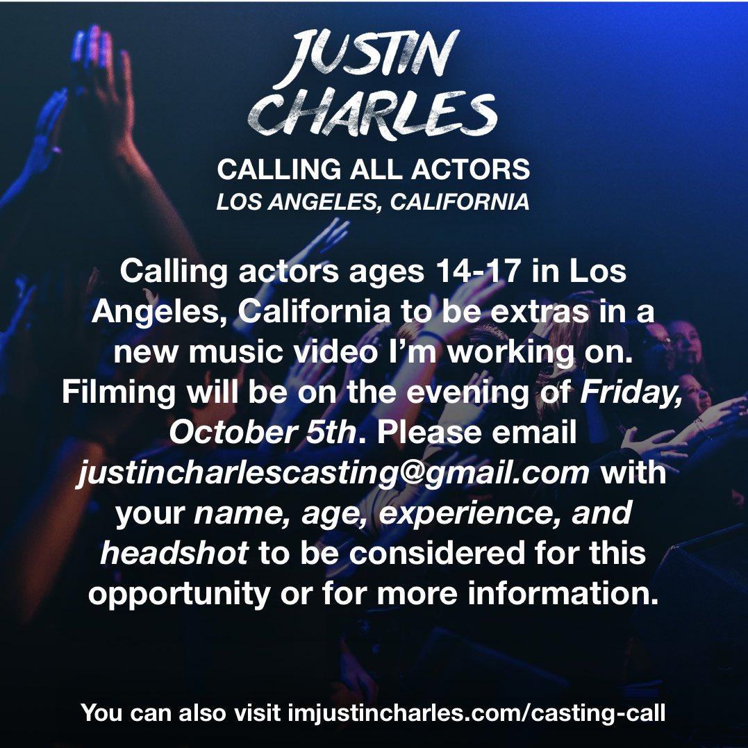 music video casting calls