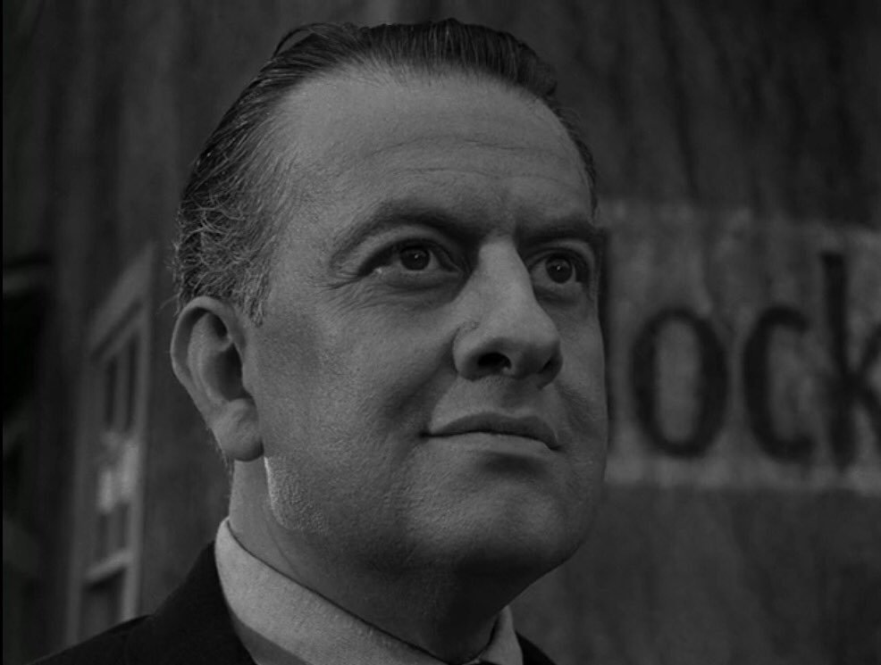 Detention. Yes, I remember you. We had some good times in this building. Such good times. #ZoneQuotes #S3E9 Deaths-Head Revisited by Rod Serling is on @netflix, @hulu, @PrimeVideo and DVD/Blu-ray.