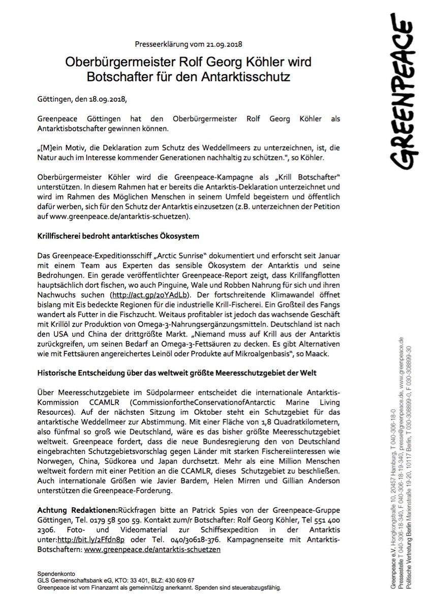 Greenpeace Göttingen on Twitter: \