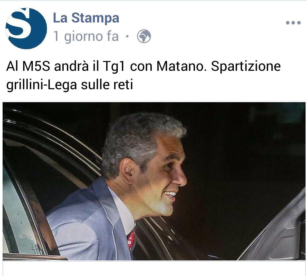 #Foa, così per ricordare, figlio stipendiato nel comitato di salvini. Presidente rai con i voti di forza italia. Intanto il #m5s come la vecchia dc, si prende il #tg1. Poi seguiranno gli interessi del centrodestra. Ma cosa avete votato? Cosa?  - Ukustom