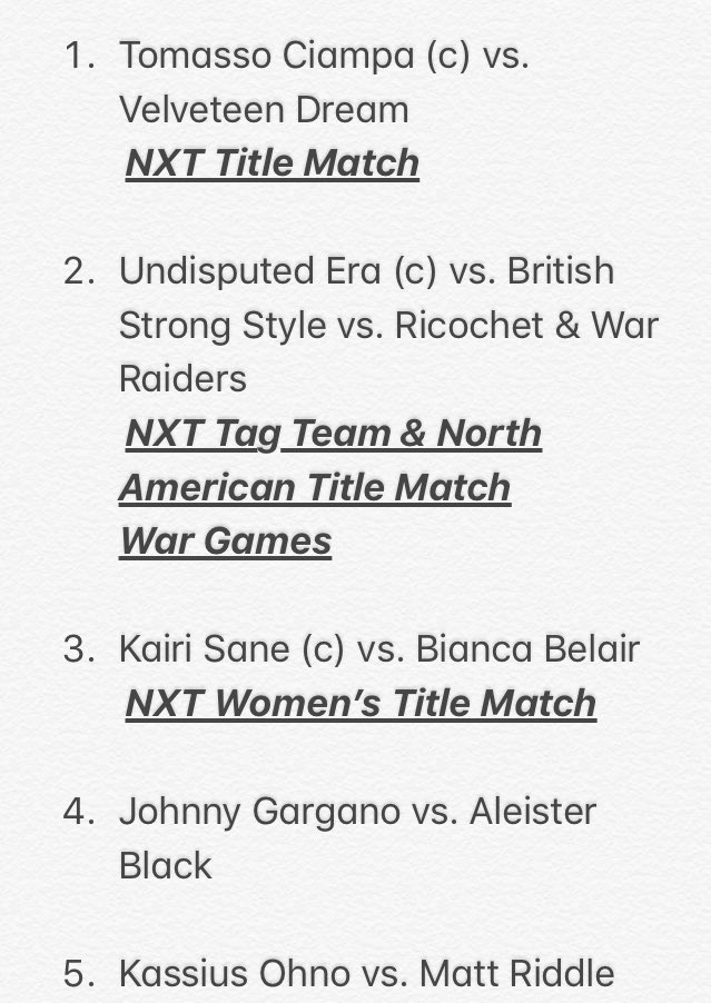 #NXTTakeOver Latest News Trends Updates Images - gabe0belts
