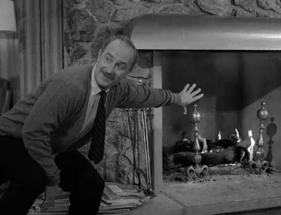 I roll the tape into a little ball, I throw it into the fireplace ... shes gone! Uncreated. #ZoneQuotes #S1E36 A World of His Own by Rod Serling is on @netflix, @hulu, @PrimeVideo and DVD/Blu-ray.