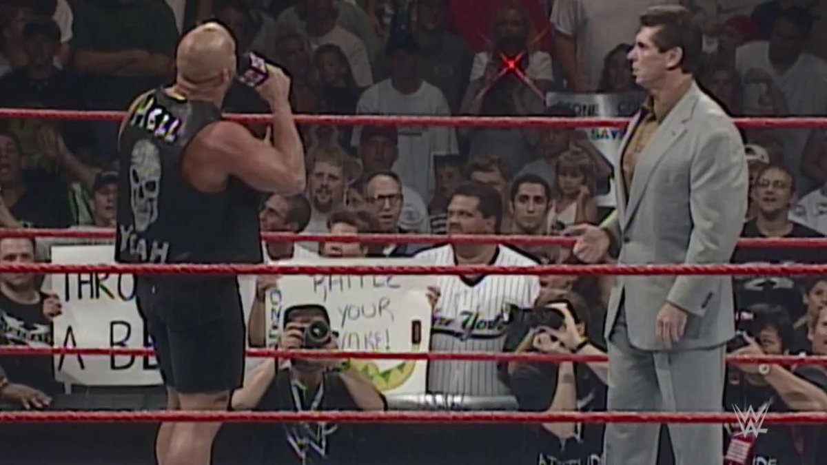 Its time to settle this TODAY. Which Era of @WWE was the best? Attitude Era or Current Era?