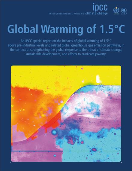 #IPCC-Bericht über globale #Erwärmung um 1,5 Grad: #Reduktionsziel 2050 wird überprüft http://ow.ly/jsX230m8CzX  @IPCC_CH #SR15
