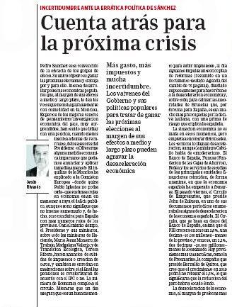 No dejen de leer a @jesus_rivases en La Razón hoy. @larazon_es
