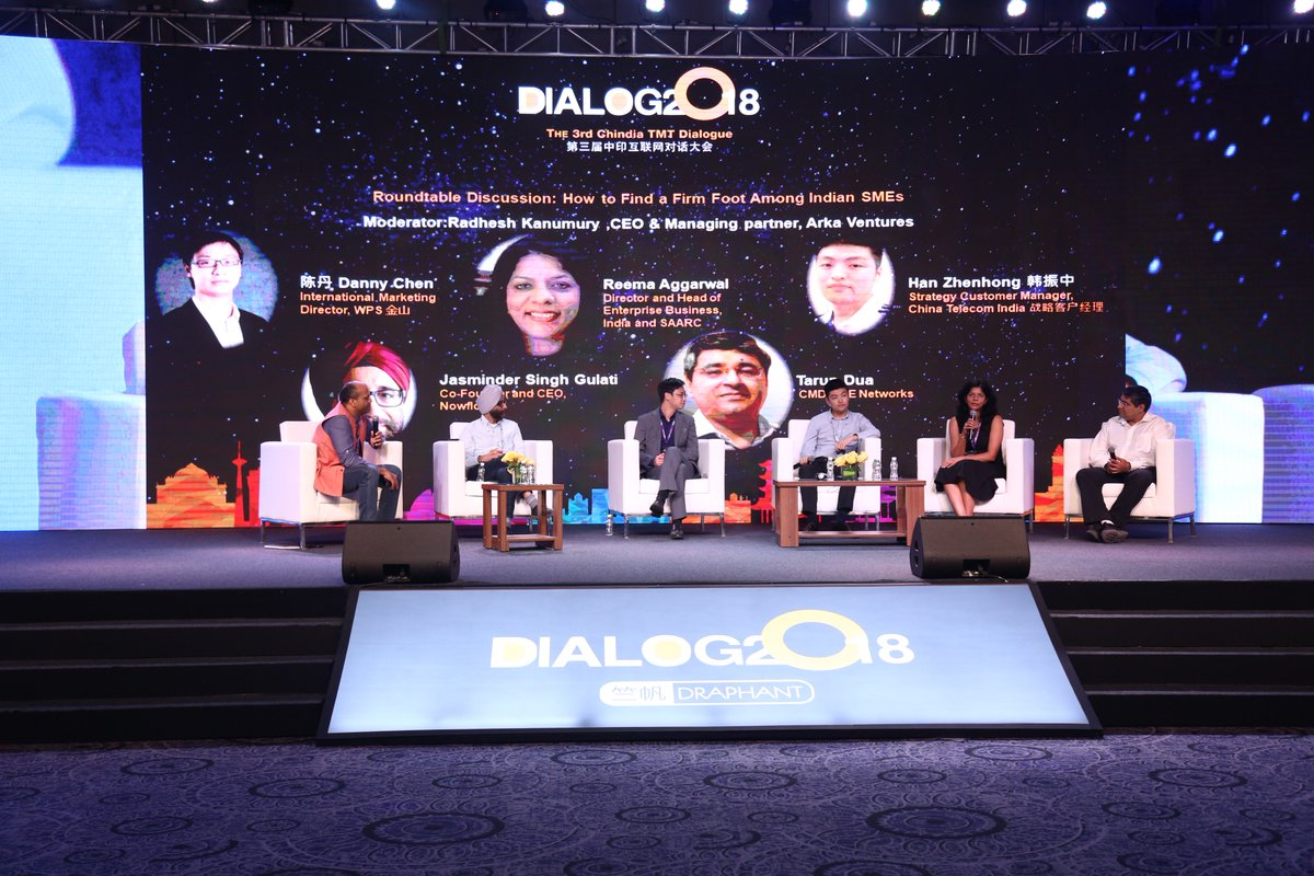Monday is not the day for a #Throwback but when you are committed to the cause of SMEs and it's business, as usual, every day is a day to discuss the possibilities involved. One such day @NowFloats at the @alibaba_cloud Second Availability Zone Launch.