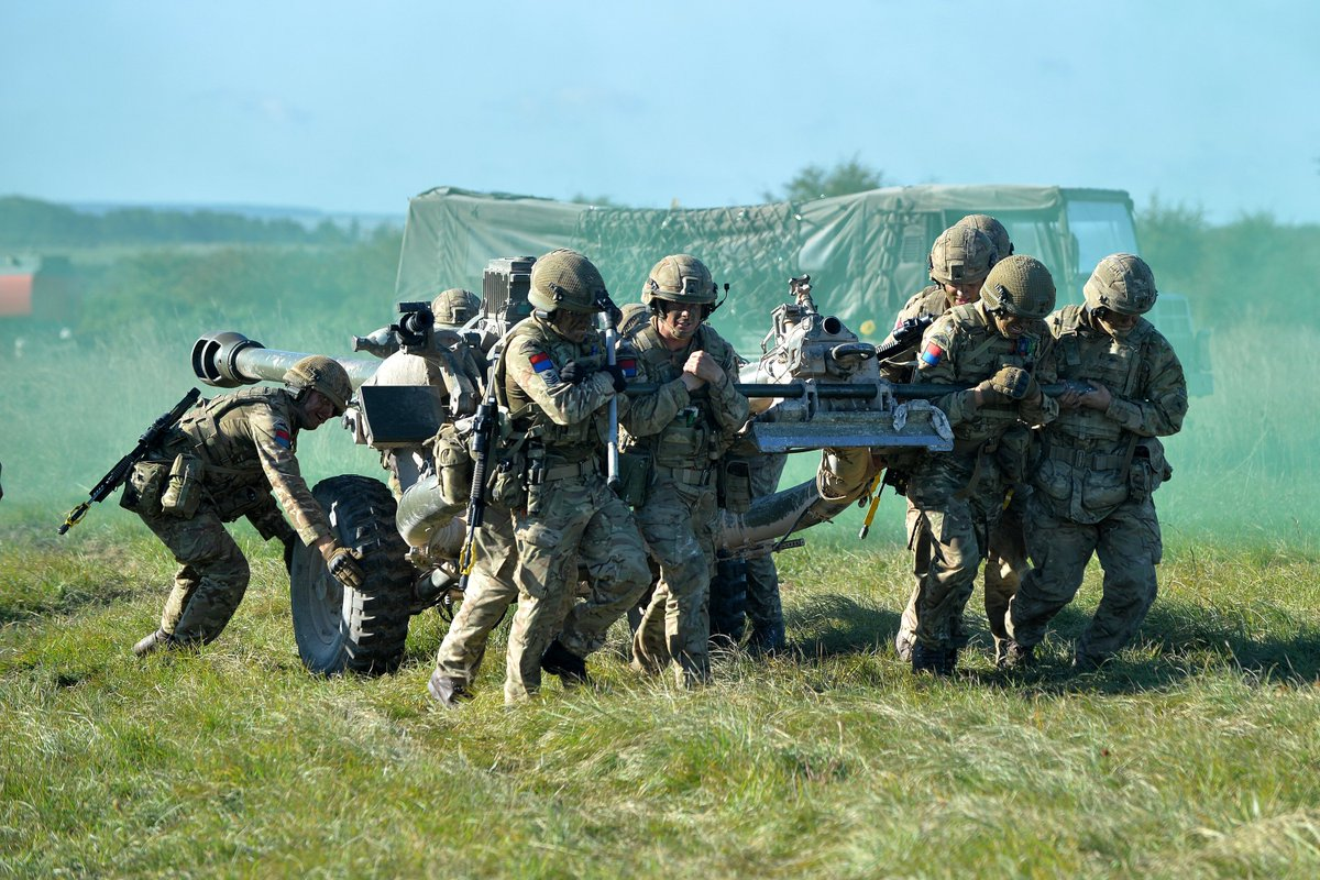 British Army On Twitter The Skills Of 7th Parachute Regiment Royal Horse Artillery 7 Para RHA Are Being Put To Test Month Long Exercise