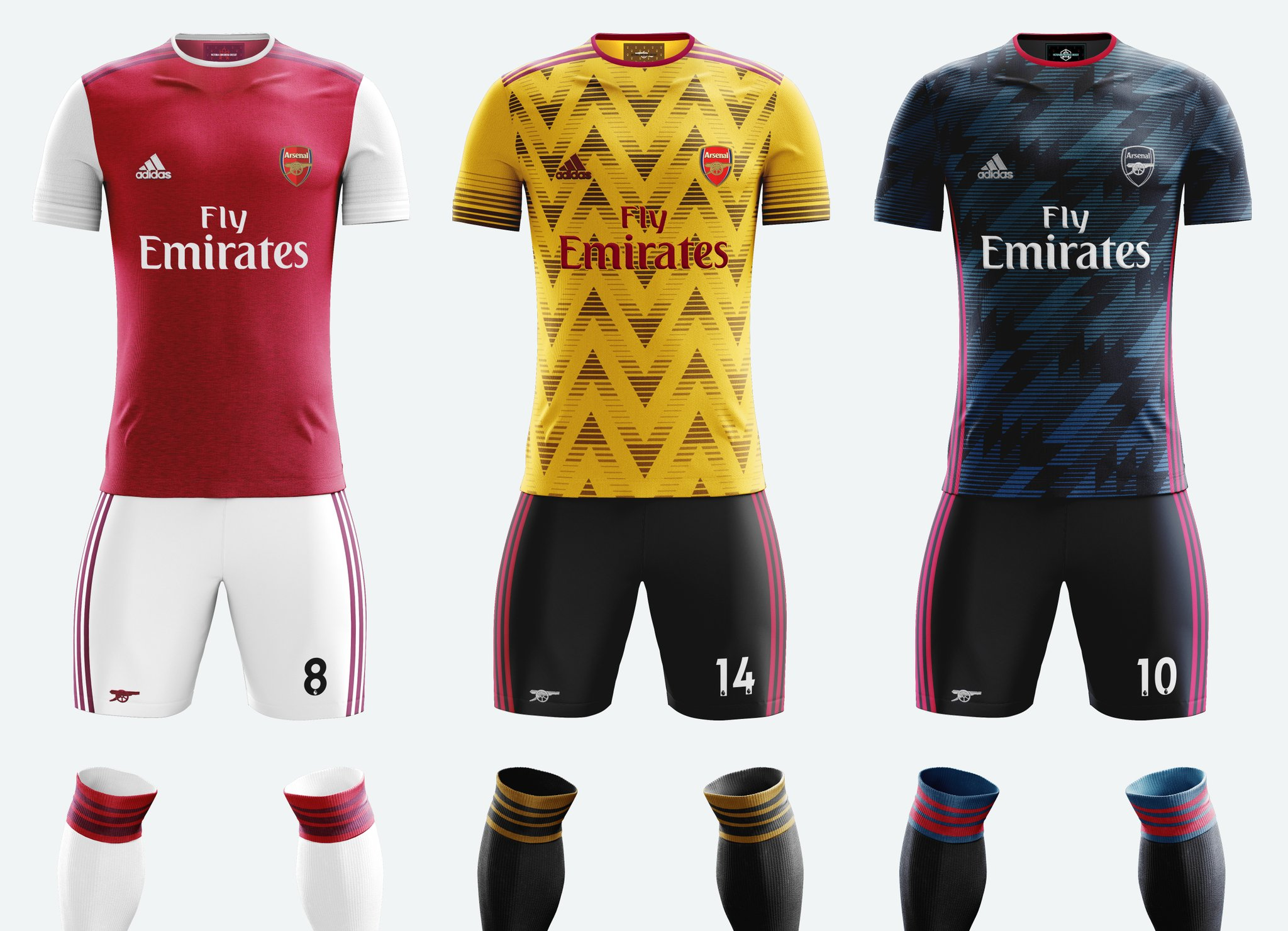 detailed look 7176c f7d4e Arsenal and adidas have agreed a new kit partnership ...