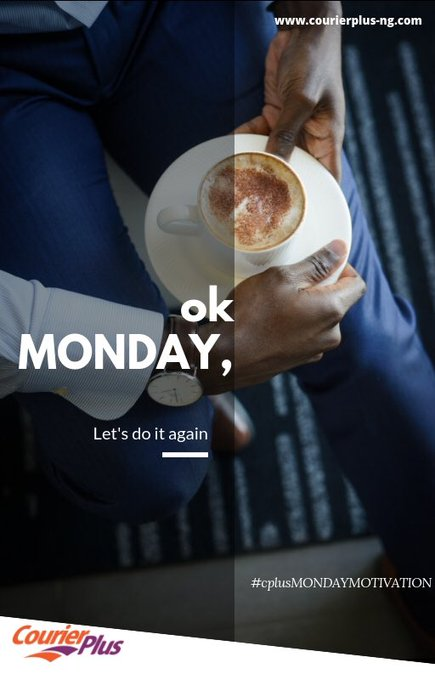 Let's do this again 💪🏽 #mondaymotivation #courierplus Photo