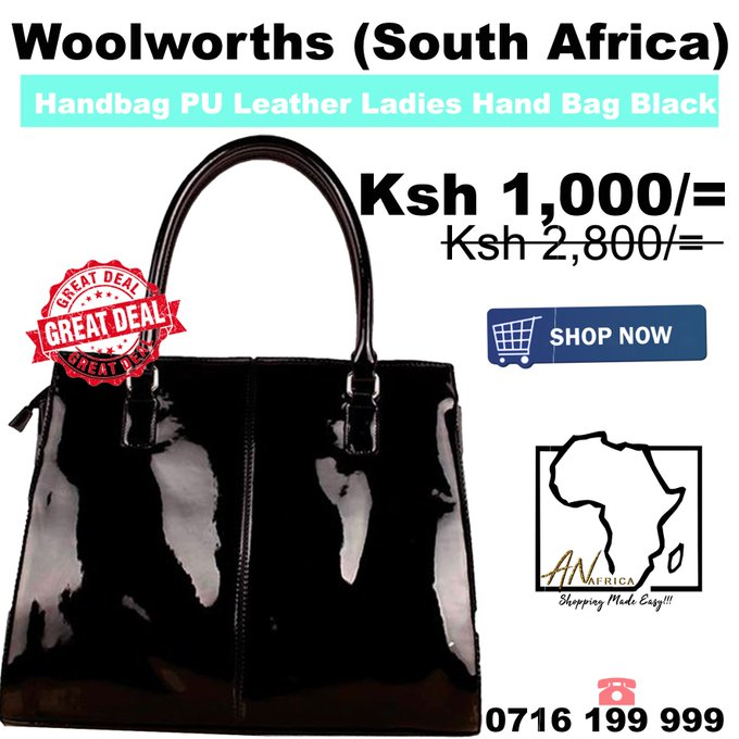 Size:45×10×30cm Material:High quatlity PU STRUCTURE:Small pockets for your essentials inside Capacity:Can hold cell phone, wallet, key and others daily necessities Check out our website: Call us on: 0716 199 999 #MondayMotivation Mahrez #JSHBR Photo