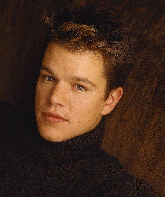 O tempo passa muito depressa, mas a tua beleza não desaparece, Happy Birthday Matt Damon
