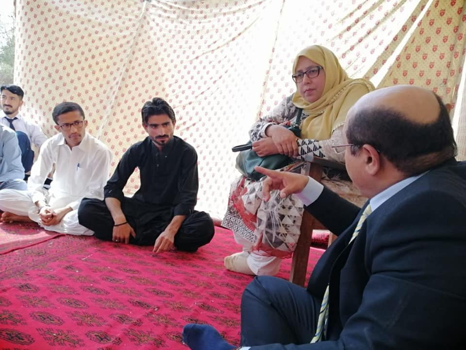 Balochistan Diary On Twitter Vc Of Buhms And Pro Vc Visited The