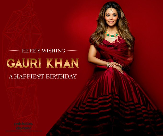 Happy Birthday ! Shah\s Gauri Khan