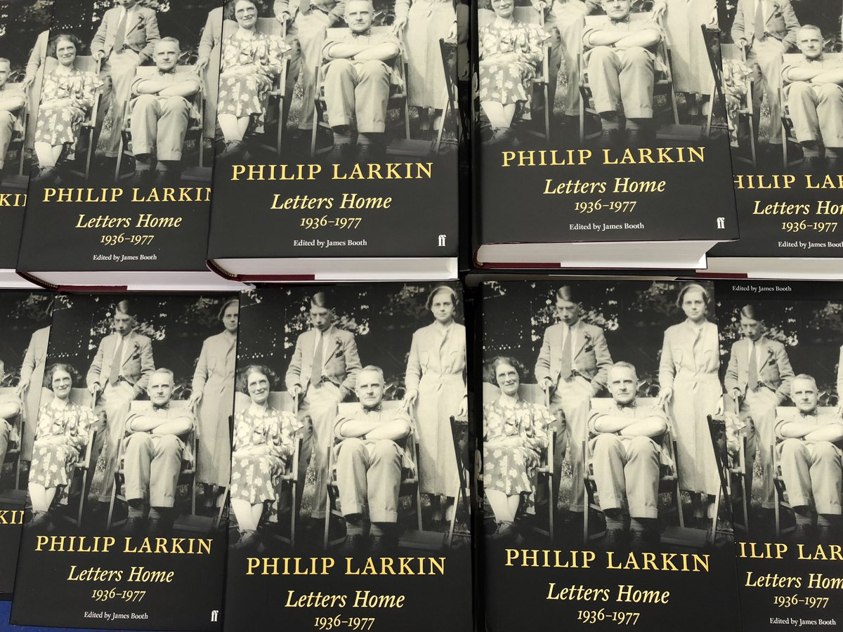 Image result for Letters Home 1936-1977 by Philip Larkin