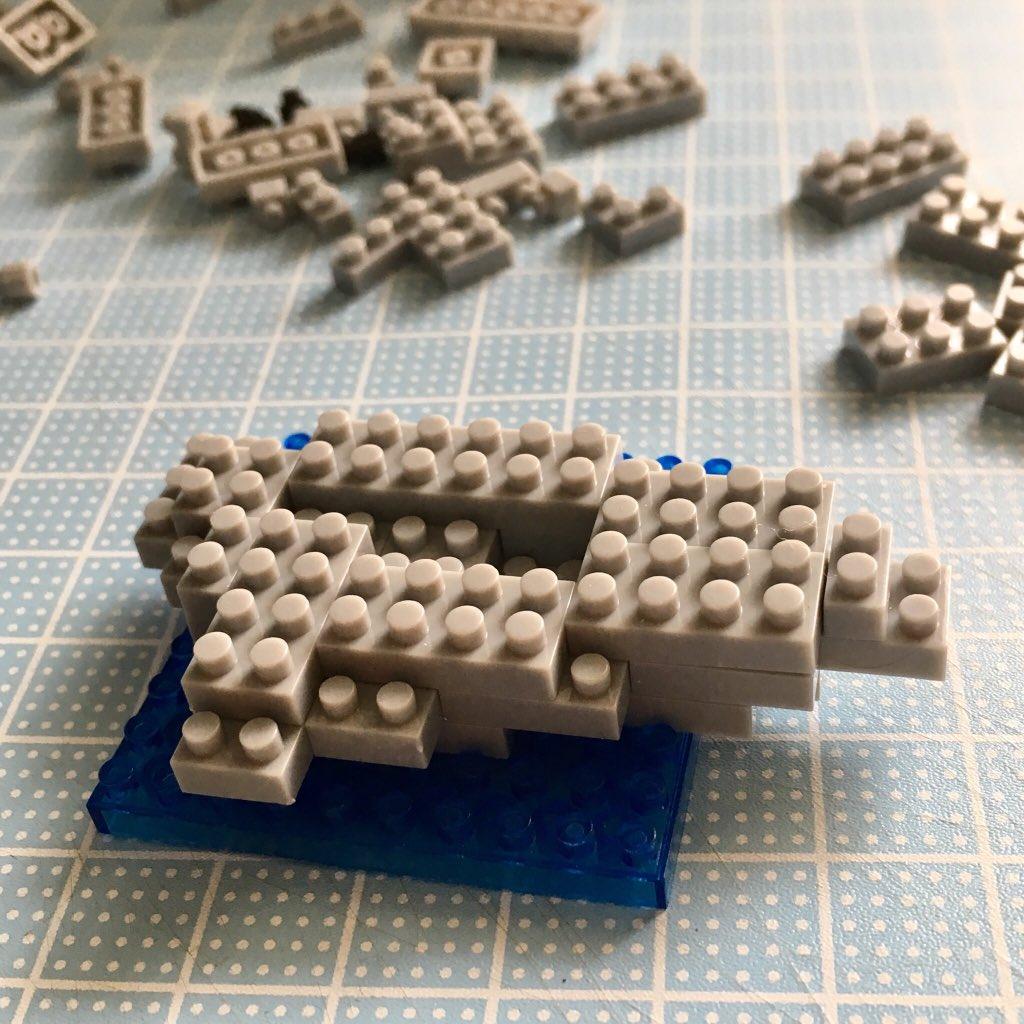 test ツイッターメディア - マイクロブロック ?アザラシ? #マイクロブロック #アザラシ #セリア https://t.co/ZXUkr88ur1