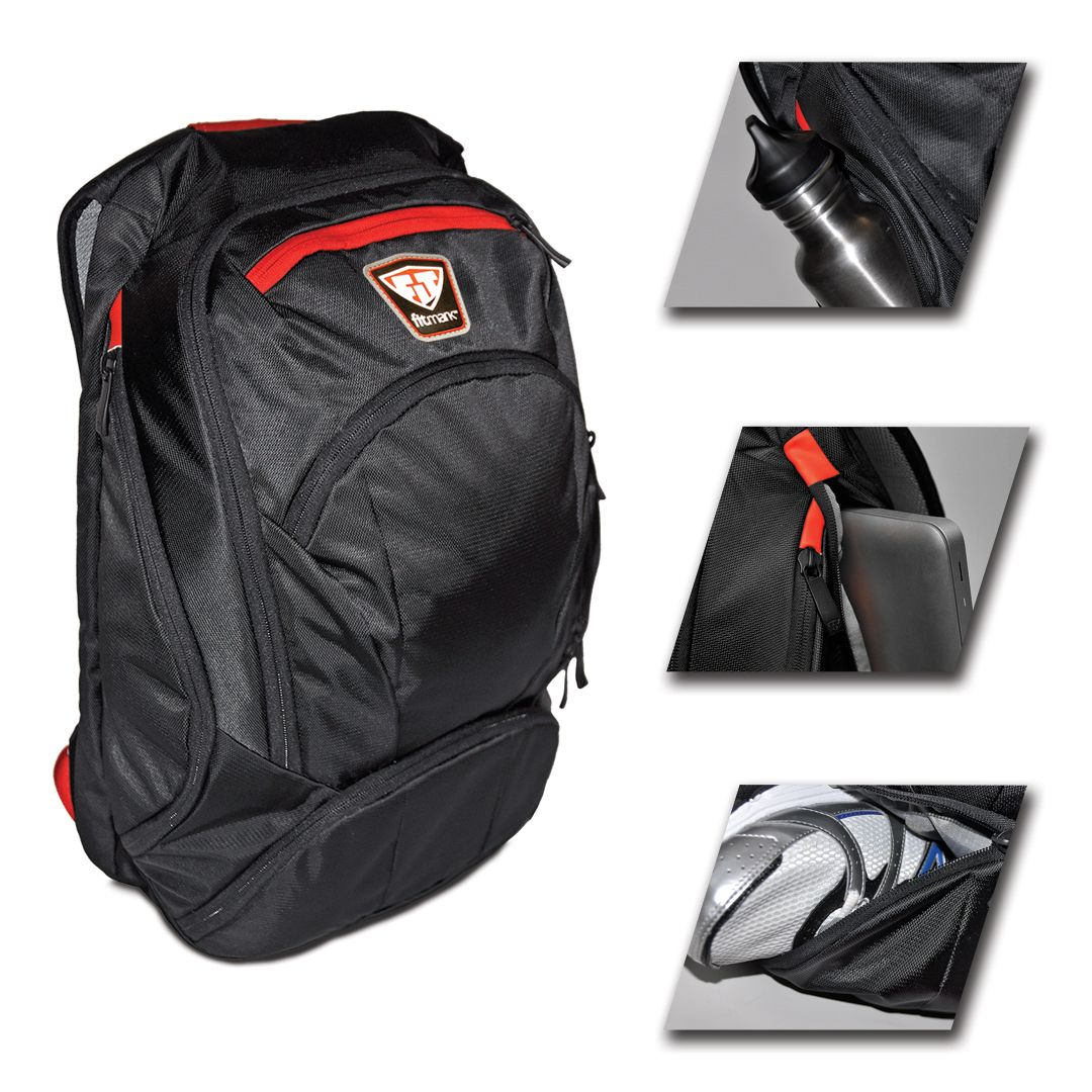cc90912d29ff56 You need a backpack to carry through your day in an awesome way. The  streamlined Velocity offers pockets to separate everything.