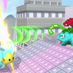 Dit level in Super #SmashBros Ultimate is gebaseerd op Saffron City uit #Pokémon Red en Pokémon Blue. Er verschijnen Pokémon vanuit de deuropening van het gebouw in het midden van het level. Wees op je hoede wanneer Electrode tevoorschijn komt!