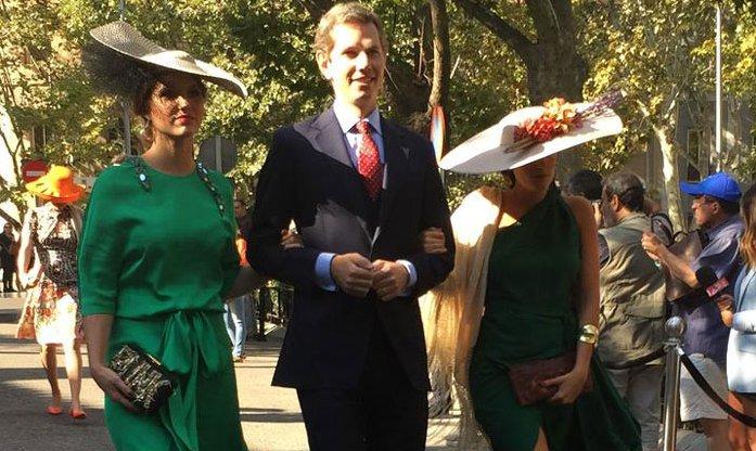 2b15ea6527 empiezan a llegar algunos de los mas de 300 invitados a la boda del duque de