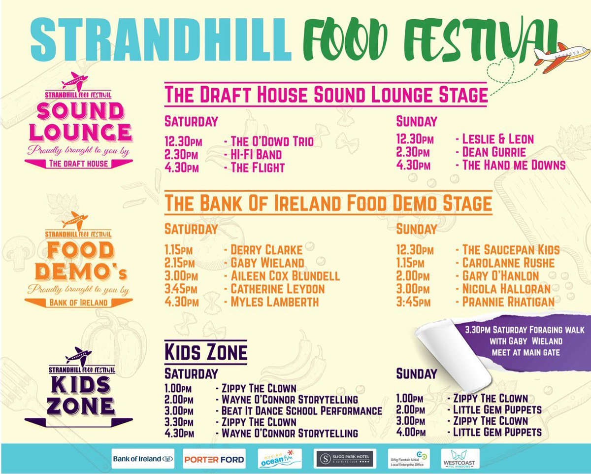 I'll be taking my hungry tum to  @StrandhillSPM for #StrandhillFoodFest this weekend. Loads of deliciousness to choose from #sligo #foodie<br>http://pic.twitter.com/kW2XvpKYSO