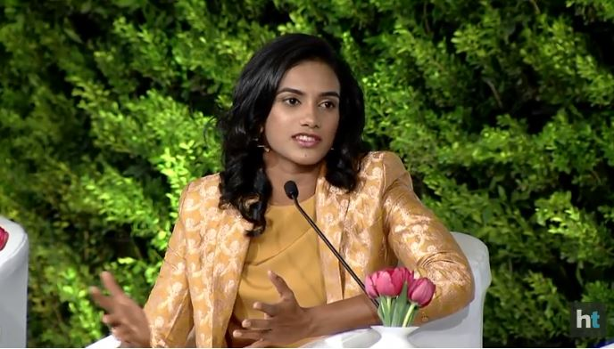 @Pvsindhu1 Everytime I go for a tournament, people say this time you will win. If I dont win then they become nervous. I just want to say that its not easy. We will give our best all the time but on that day someone can be better. People need to understand that, says @Pvsindhu1 #HTLS2018
