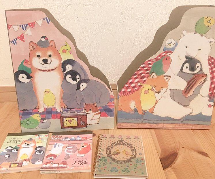 test ツイッターメディア - #セリア #100円ショップ  既出かもですけど  こんなに 可愛い文房具、見つけた!  鳥、ペンギン、 白くま、ハムちゃん キツネにワンちゃん! ウリボー?もいる?  好きな動物づくしで 癒されるわ? (*´ч ` *) https://t.co/MVlHKHcqx2