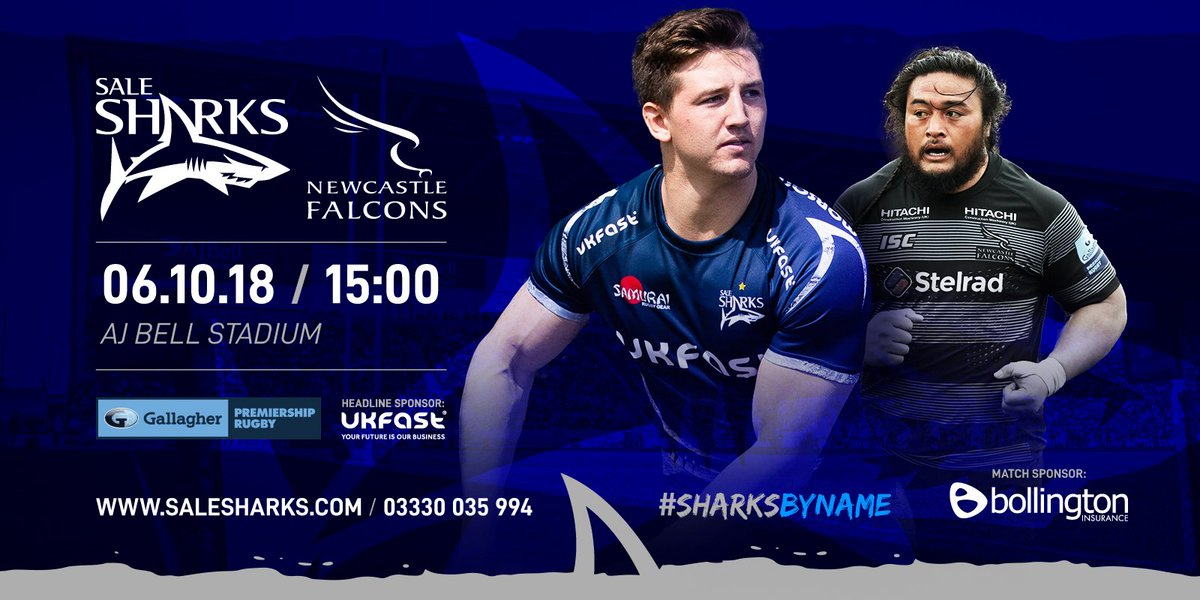 test Twitter Media - Best of luck to @SaleSharksRugby on their match against @FalconsRugby today at 3pm! #SamuraiFamily #SharksByName https://t.co/ScQLDj1jJD
