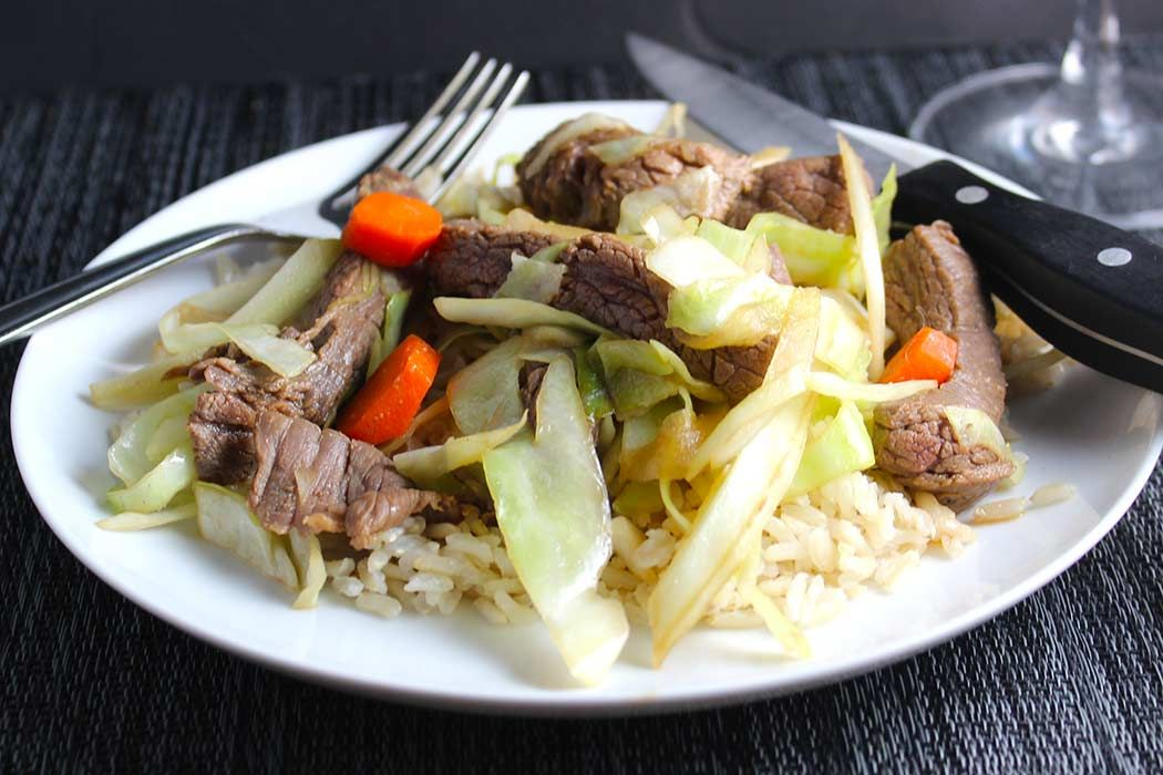 Steak and Cabbage Stir-Fry -- tasty one from our #SundaySupper archives  https://t.co/m0kxzEkGqd #beef #recipes https://t.co/8vB853YIL2
