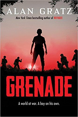 TODAY at 3pm! We're celebrating the book launch of GRENADE with @AlanGratz. Join us for this free event!!