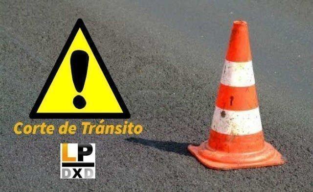 #SantaRosa | Corte de tránsito en Av.Circunvalación y Entre Ríos