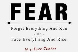 We all make choices about fear ... #LeadLAP