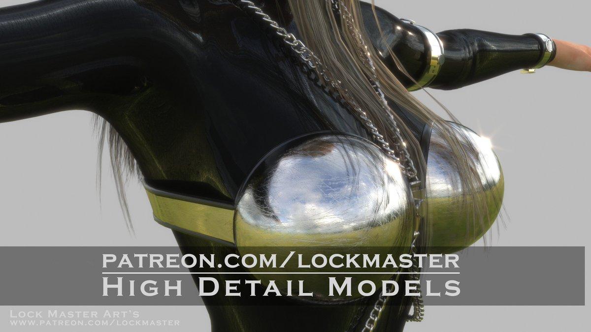 "3D Latex Bondage lock-master on twitter: ""3d metalbondage, latex, bdsm images"