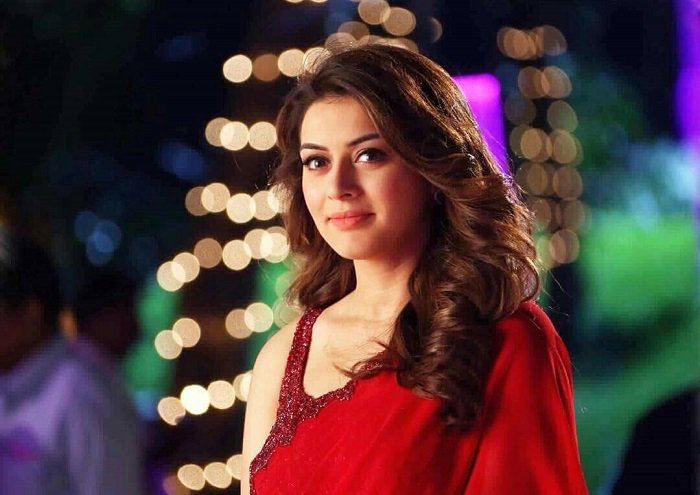 Hansika stooping down her levels and acting in