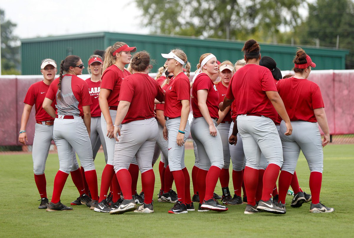 "alabama softball on twitter: ""#bamasb opens fall schedule sunday"