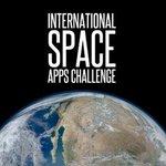 Image for the Tweet beginning: Le @SpaceApps challenge, #hackathon de