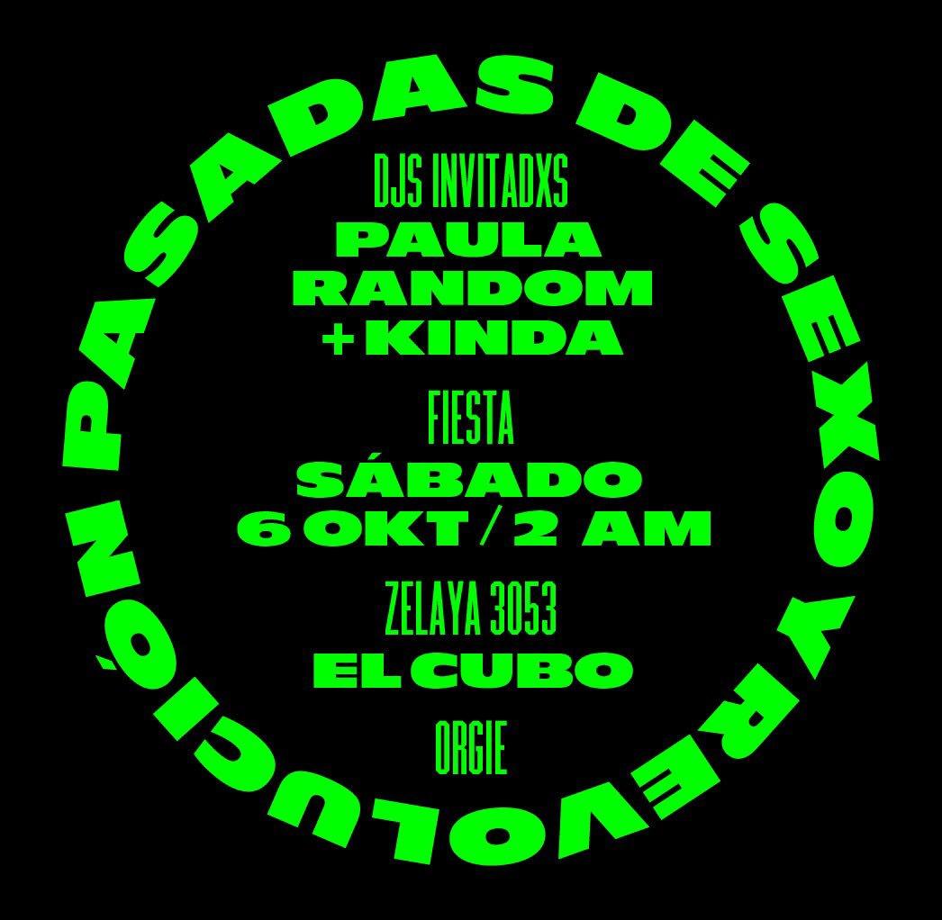 🔥ENTRADAS AGOTADAS PARA EL SHOW🔥   💎PERO VENI A LA FIESTA💎 DJs #PaulaRandom #KINDA