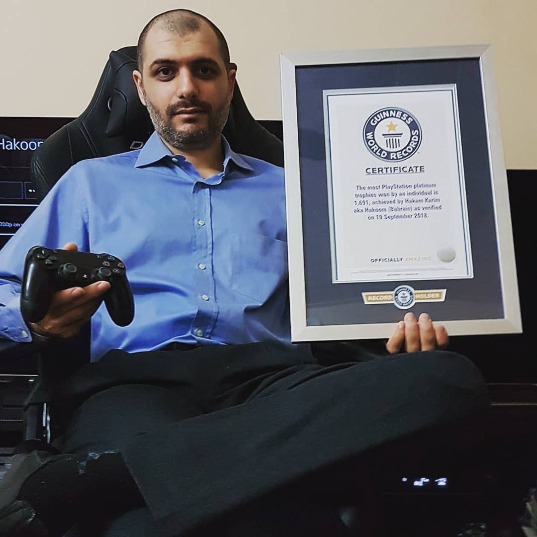 Weltrekord PlaySation Trophäen