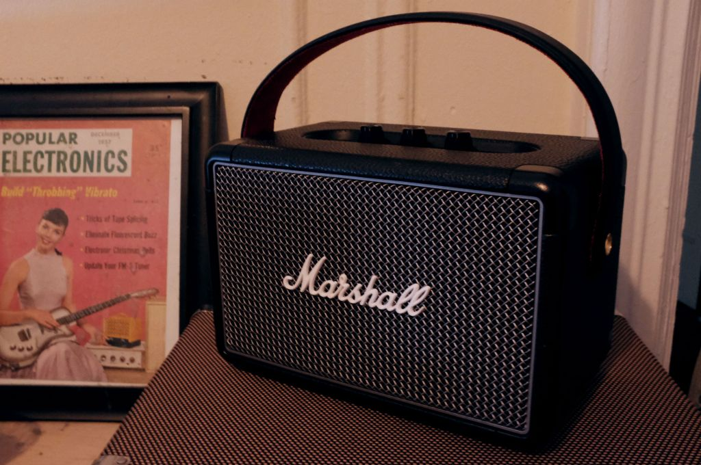 Marshall's Kilburn II is a ruggedly handsome bluetooth speaker by @bheater