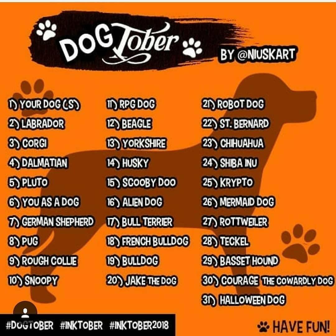 Días 4, 5 y 6 de #inktober 🐕  #inktober2018 #dogtober #dog #puppy #dalmatian #pluto #youasadog