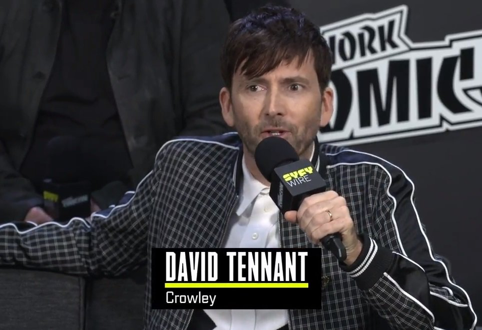 David Tennant at an interview with SYFY from New York Comic Con - Saturday 6th October 2018