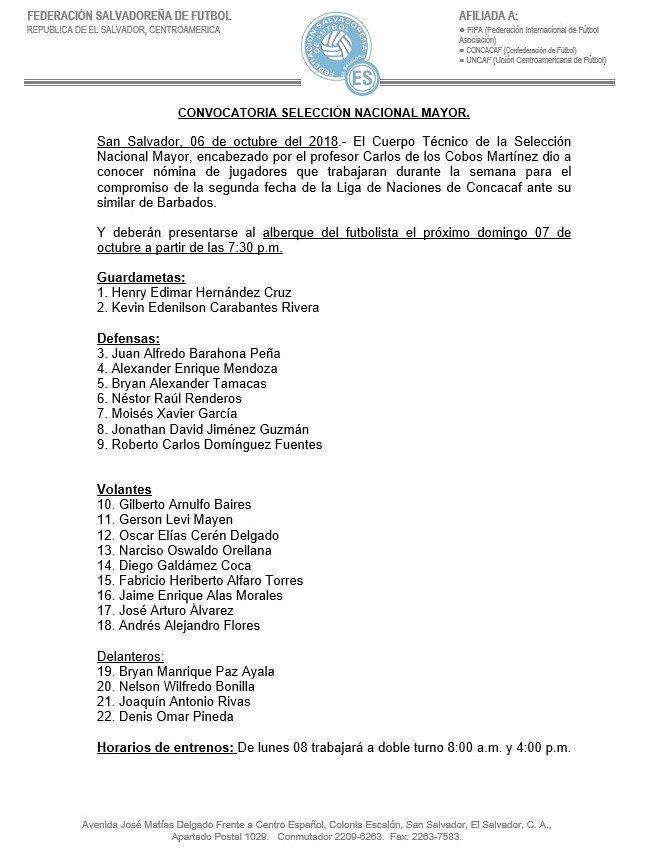 Liga de Naciones CONCACAF y Eliminatorias a Copa Oro 2019 [13 de octubre del 2018 - Barbados] Do2C39oV4AAaLxf