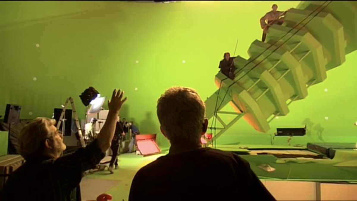Star Wars Holocron בטוויטר Behind The Scenes Filming The Mustafar Duel In Revenge Of The Sith