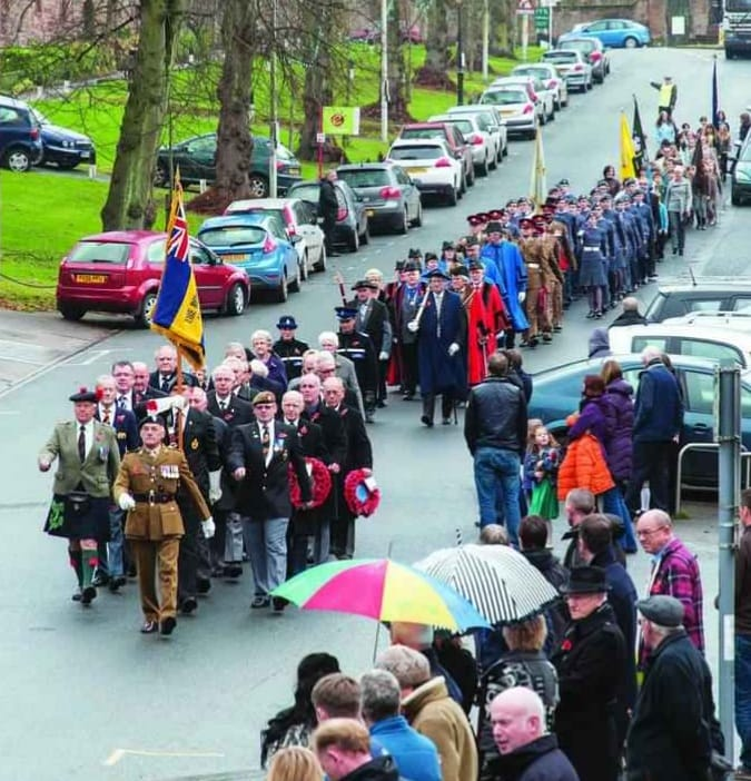 Whats on Appleby: Remembrance Parade